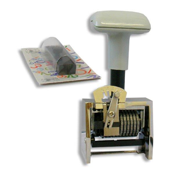timbro numeratore automatico 7 cifre progressivo