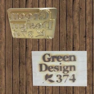 timbro a caldo green design