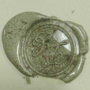 timbro ceralacca argento