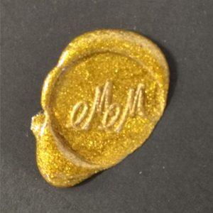 sigillo ceralacca metallizzata oro