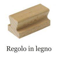 regolo in legno
