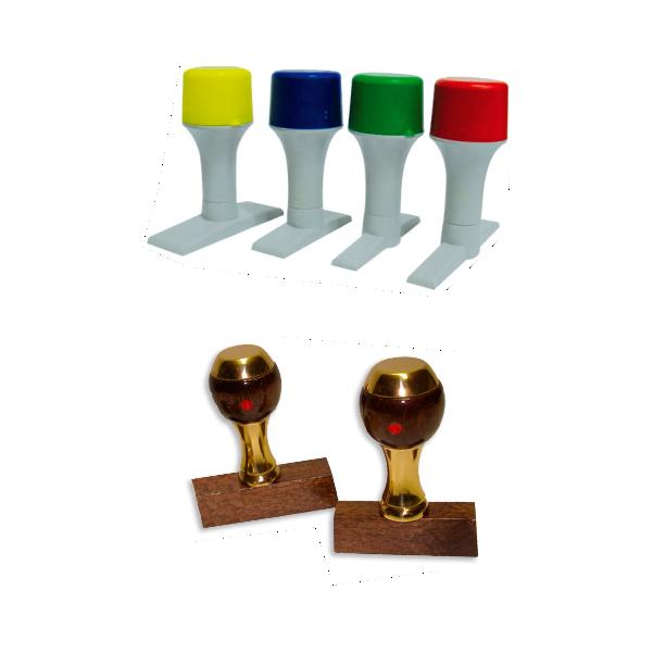 timbri personalizzati manuali