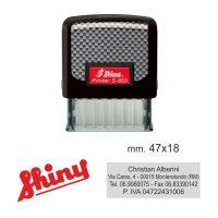 Timbro shiny S-853
