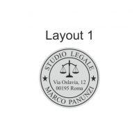 layout 1 tondo da 40