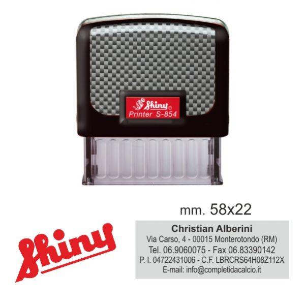 Timbro shiny S-854